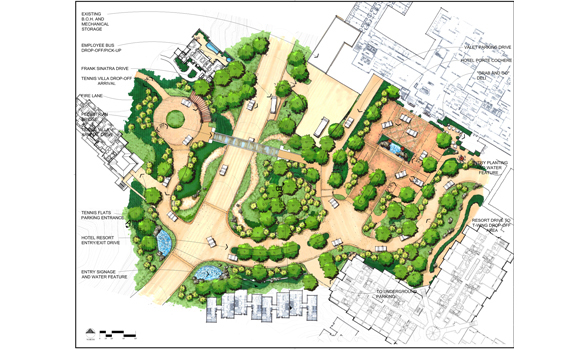 Terra nova planning research inc for Site plan drawing online